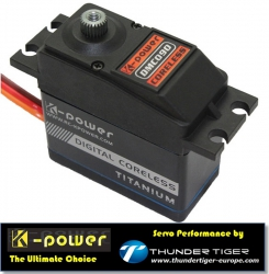 K-POWER by TTE Servo Digital Coreless DMC090 Thunder Tiger 042DMC090