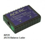LiPo Balancer Lader, 2S & 3S Automatik, 1A Ladestrom Thunder Tiger 2539