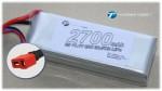 LiPo 3S 2700mAh 11,1V 20C mit US Deans Style Stecker Thunder Tiger 2814X