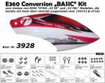 E360 Conversion BASIC Kit zum Umbau von MINI TITAN E325 Thunder Tiger 3928