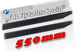 Flybarless CARBON Blätter 550mm NEU 2014 Thunder Tiger 3932