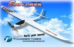 EXPLORER 1500 PRO Motor-Segler ARTF 1500mm Spannweite Thunder Tiger 4385-F00