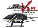 Mini Titan E325 V2 SE Flybarless & Heck-Starr-Antrieb KIT Thunde