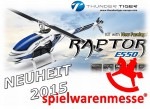 E550 RAPTOR Flybarless Elektro Rumpf-Helikopter Kit Thunder Tiger 4732-K10