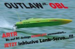 OUTLAW JR OBL Brushless Kompakt-Power-Boot ARTR + GRÜN Thunder T