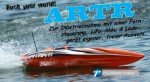 AVANTI OBL ARTR Brushless Kompakt-Power-Boot ORANGE Thunder Tiger 5129-A23O