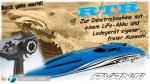 AVANTI OBL RTR Brushless Kompakt-Power-Boot 2.4GHz Thunder Tiger 5129-F11L