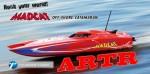 MADCAT OBL ARTR Brushless Kompakt-Power-Katamaran ROT Thunder Tiger 5130-A23R