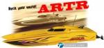 MADCAT OBL ARTR Brushless Kompakt-Power-Katamaran GELB Thunder Tiger 5130-A23Y