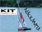 Racing-Segel-Yacht NAULANTIA 1:25, RTR 27MHz, ROT Thunder Tiger