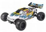 TOM ST 1:10 Nitro 3,0ccm 4WD Truggy RTR 2.4G, BLAU-GELB Thunder Tiger 6197-F283