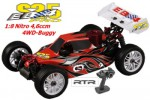 EB4 S2.5 1:8 Nitro 4WD Buggy 4,6ccm RTR 2.4G, ORANGE Thunder Tiger 6243-F111