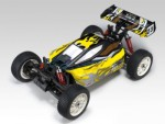 EB-4 G3 1:8 Buggy 4WD RTR Brushless 2,4GHz Farbe Gelb Thunder Ti