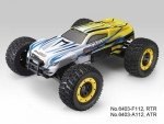 e-MTA 1:8 4WD Brushless ULTIMATE-MONSTER Truck RTR, GELB Thunder