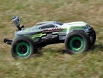 e-MTA 1:8 4WD Brushless ULTIMATE-MONSTER Truck RTR, GRÜN Thunder