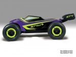 ST4 G3 1:8 4WD Brushless Truggy RTR 2.4G PURPLE iFHss+ Thunder T