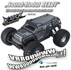 K-ROCK MT4 G5 1:8 Brushless 4WD 6S-Monster-Truggy GRAU RTR Thunder Tiger 6406-F112-S