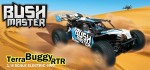 BUSH MASTER 1:8 Brushless 4WD Terra-Race-Buggy BLAU RTR Thunder Tiger 6410-F111
