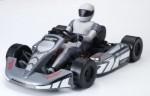 KT8 GO-Kart 1:8 Brushless RTR 5500KV, 2.4GHz, GRAU Thunder Tiger