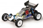 PHOENIX XB 2WD Brushless Buggy 1:10 RTR 2.4G BLAU-GELB Flame Thu