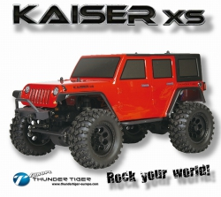 KAISER XS 1:14 OFF-ROAD 4WD ROT RC WaterProof Design Thunder Tiger 6602-F131-A2