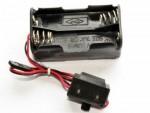 Halterung für Empfängerbatterie mit Schalter Thunder Tiger AG204