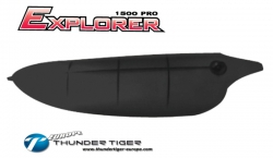 EXPLORER 1500 PRO Kabinen-Haube, Kunststoff, Schwarz Thunder Tiger AS2004