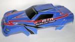 eMTA G2 Karosserie, Monster-Truck 1:8, BLAU, Lexan Thunder Tiger PD09-0116