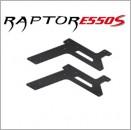 E550S Chassis-Seitenplatte, Kohlefaser CNC, Unten-Vorne (2) Thunder Tiger PV0070