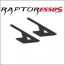 E550S Chassis-Seitenplatte, Kohlefaser CNC, Unten-Hinten (2) Thunder Tiger PV0071