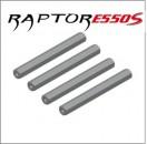 E550S Chassis-Rahmen-Metall-Streben (4) Thunder Tiger PV0072