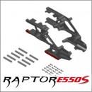 E550S Chassis-Zentral-Stück, Kunststoff-Verbundmaterial Thunder Tiger PV0074
