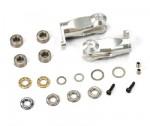 E820 Heck-Blatt-Halter, Alu CNC, Komplett-Set (2) Thunder Tiger PV0595