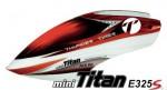 E325 S FBL Haube, PVC, ROT V1 Team Design Thunder Tiger PV1295