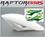 E550S 3D Haube, ABS, TEAM-Design inkl. Dekor-Bogen Thunder Tiger PV1431