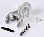 E700 Heckrotor-Getriebe-Gehäuse, Alu CNC, Set Thunder Tiger PV1680