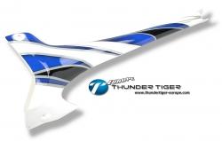 E550 GFK Voll-Rumpf Hinter-Teil für 4732-K10 Thunder Tiger PV6336
