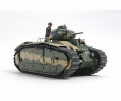 1:35 WWII Franz. Panzer B1 bis (motor.) Tamiya 30058 300030058
