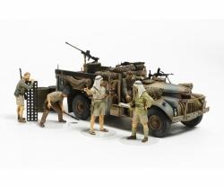 1:35 Brit. LRDG Befehlswagen mit 7 Fig. Tamiya 32407 300032407