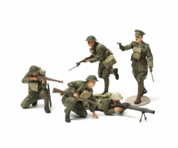 1:35 WWI British Infantrie Fig.-Set (5) Tamiya 35339 300035339