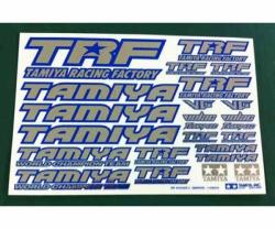 TRF Aufkleberbogen C Blau (spiegelnd) Tamiya 42237 300042237