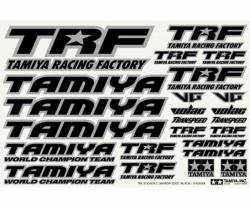 TRF Sticker C schwarz/chrom Tamiya 42246 300042246