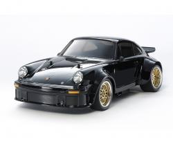 1:10 RC Porsche 934 RSR Black TA02SW Tamiya 47362 300047362
