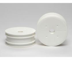 TRF201 Dish-Felgen vorne weiss (2) Tamiya 51414 300051414