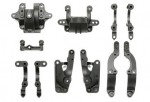 TA06 A-Teile Halterung Carbon verstärkt Tamiya 54321 300054321
