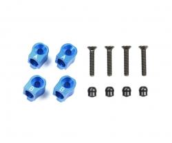 M-07C Alu Querlenkerhalter hi./+0,5 blau Tamiya 54787 300054787