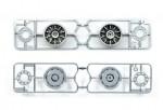 1:14 Truck/Aufliegerfel.30mm 6K(2)Chr.m. Tamiya 56519 300056519