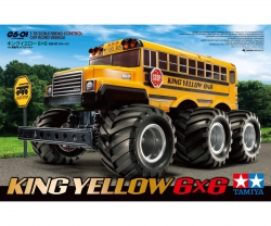 1:18 RC King Yellow 6x6 Bus (G6-01) Tamiya 58653 300058653