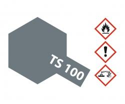 TS-100 Gunmetall hell seidenmatt 100ml Tamiya 85100 300085100