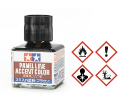 Panel Accent Color Braun 40ml Tamiya 87132 300087132
